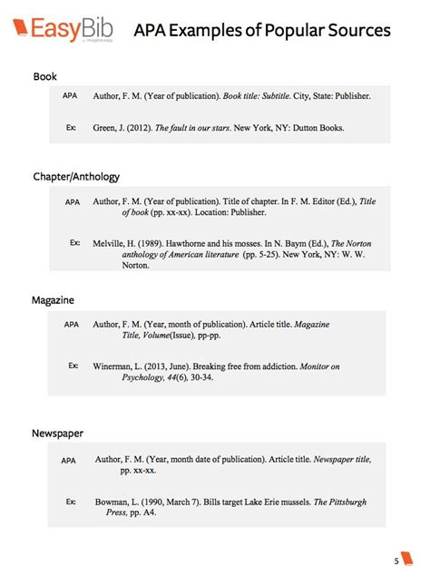 citing sources examples  citation school