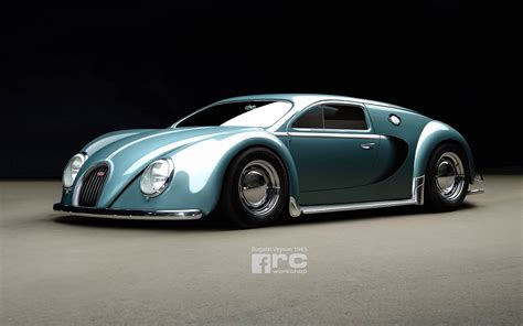 The Bugatti Made by What If The Bugatti Veyron Had Been Made In 1945