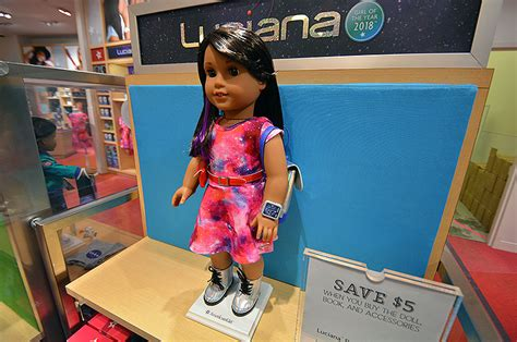 houston luciana  landed american girl debuts aspiring astronaut doll collectspace