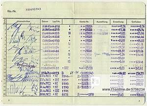 Altes Sparbuch Zinsen Berechnen : altes sparbuch einer deutschen sparkasse f r den zeitraum 1961 bis 1979 mit eingetragenen zinsen ~ Themetempest.com Abrechnung