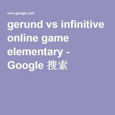 gerunds  infinitives images english grammar