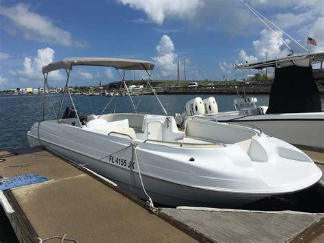 Side Boat Rentals by Scuba Tank Allowed Boat Rentals Key West Boat Rentals