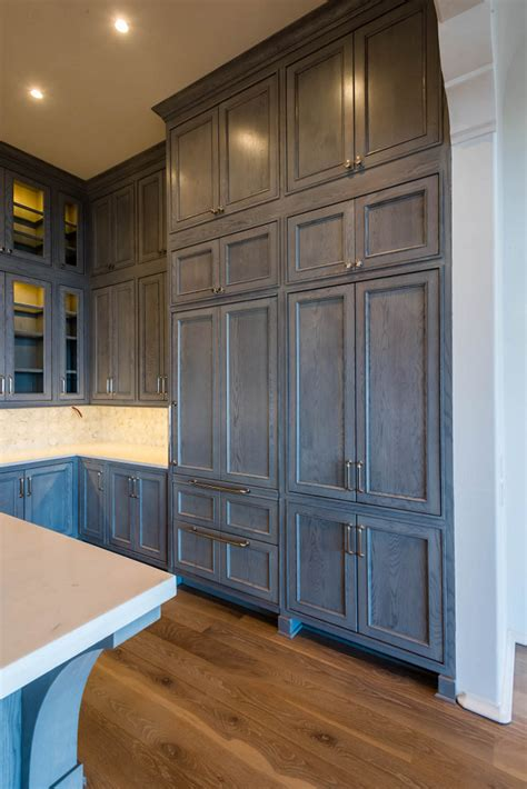 gray stained kitchen cabinets gray stained cabinets in kitchen quicua com