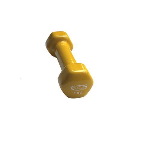 dumbell vinyl 1kg by sm delta dbnp701 1kg vinyl dumbbell rcl sport fitness equipment