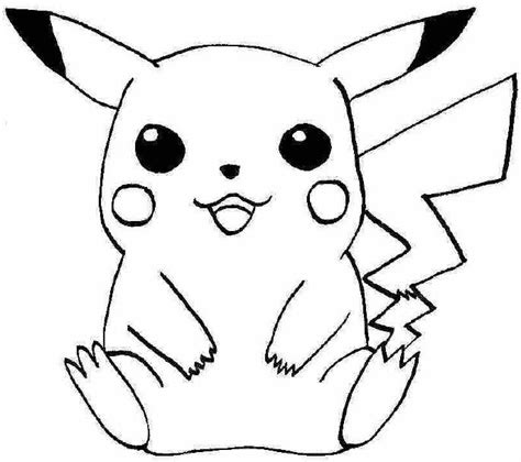 Kleurplaat Pikachu by Pokemonkleurplaten Pickachu Http Www Kleurplaat
