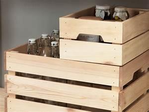 Ikea Caisse Bois : ikea hacking les caisses en bois knagglig joli place ~ Melissatoandfro.com Idées de Décoration