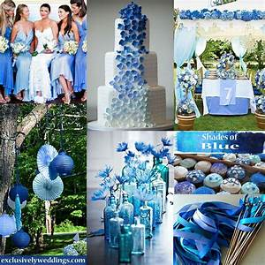 Pin by Exclusively Weddings on Blue Wedding Ideas and ...