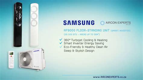 samsung af floor standing air conditioning unit smart inverter