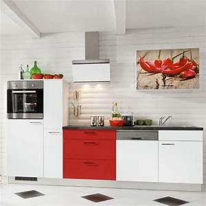 Küchenzeile Mit Aufbau : moderne k chenzeile komplett mit elektroger te 290 cm stellmass ~ Eleganceandgraceweddings.com Haus und Dekorationen