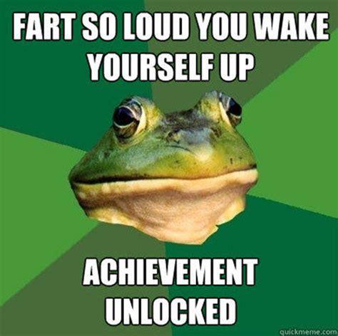 frog foul fart meme loud bachelor memes farts under blanket appalling wake sayingimages