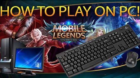 Mobile Legends Tutorial How To Play On Pc No Hack Nox 2017