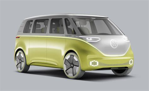 volkswagen microbus  electric resurrection