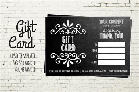 8 sle gift card templates