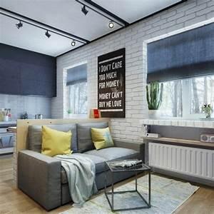 amenagement petit appartement quelques idees With decoration petit appartement moderne