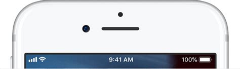 Iphone Top Bar by Status Icons And Symbols On Your Iphone Apple Support