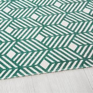 Tapis En Coton : tapis en coton vert motifs graphiques 160x230 greeny ~ Nature-et-papiers.com Idées de Décoration
