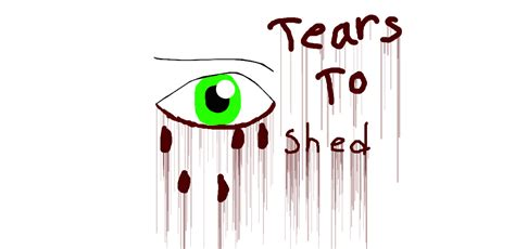 how to tear a shed tears to shed by xiaolin fanatic on deviantart