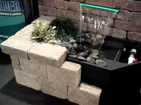 how to build a wall waterfall creating a wall waterfall display youtube