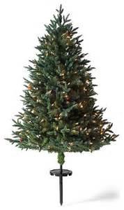 white pine cordless stake outdoor christmas tree christmas decor traditional christmas trees
