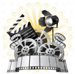 Hollywood Film Reel Clip Art