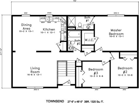 bi level house floor plans inspiring bi level floor plans 12 photo house plans 44200