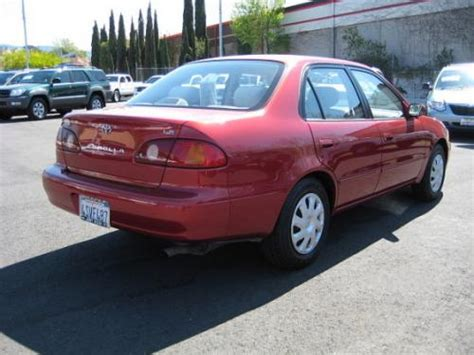 importarchive toyota corolla 1998 2002 touchup paint