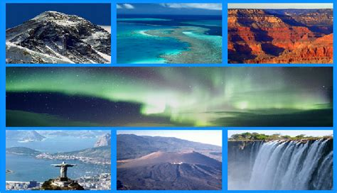 7 natural wonders of the world - Holiday Sarthi | Best ...