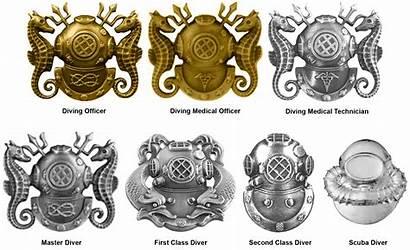 Diver Navy States United Diving Combat Master