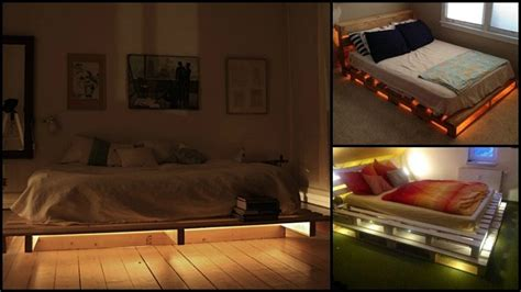 illuminated pallet bed  owner builder network