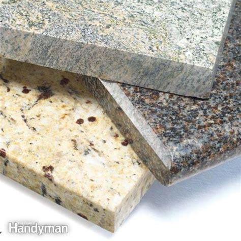 Buying Countertops: Plastic Laminates, Granite, and Solid