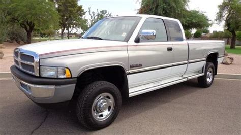 automobile air conditioning repair 1997 dodge ram 2500 electronic toll collection sell used 1997 dodge ram 2500 4x4 laramie 12 valve cummins turbo diesel pickup truck nr az in