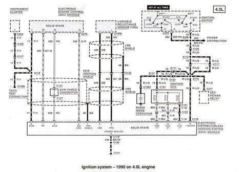 Wiring Diagram For 1988 Ford Ranger by 1988 Ford Ranger Radio Wiring Diagram Better Wiring