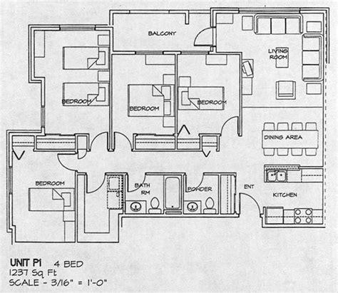 4 bedroom floor plans one city gate housing co op floor plans