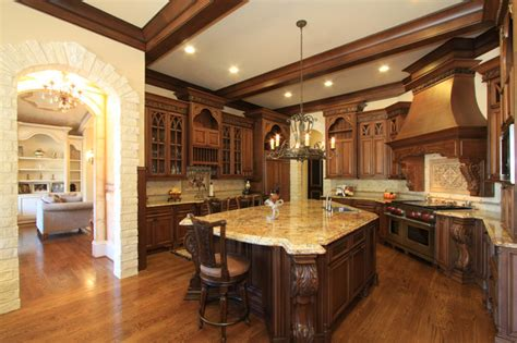 luxury kitchen design ideas 25 traditional kitchen designs for a royal look 7302