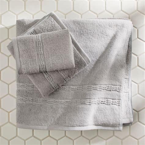 homes gardens eco bath towel pc set walmartcom