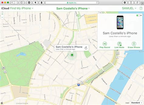 how to use find my iphone to locate a lost phone