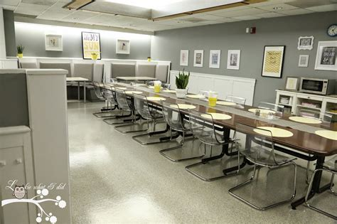 Small Kitchen Makeover Ideas On A Budget - lookie what i did teacher lounge makeover