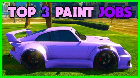 Gta 5 Online -top 3 *rare* Paint Jobs!