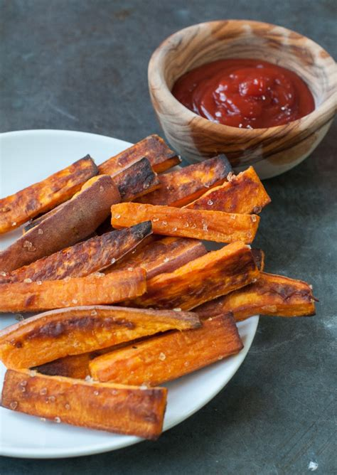 easy oven baked sweet potato fries marin mama cooks
