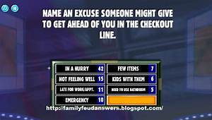 Site Map Family Feud Answers   All Basketball Scores Info