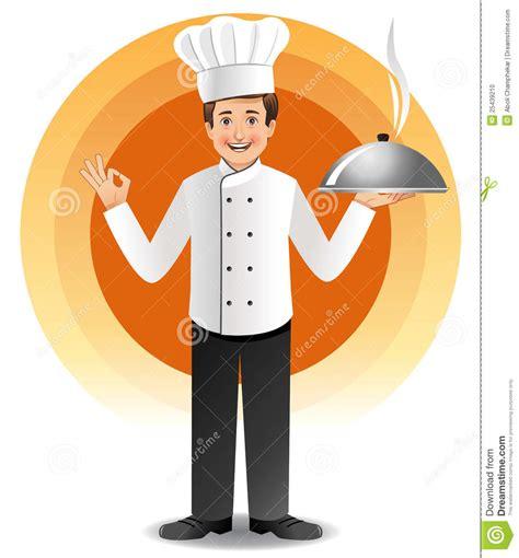cuisine des chefs chef avec cuire la cuisine à la vapeur photo stock