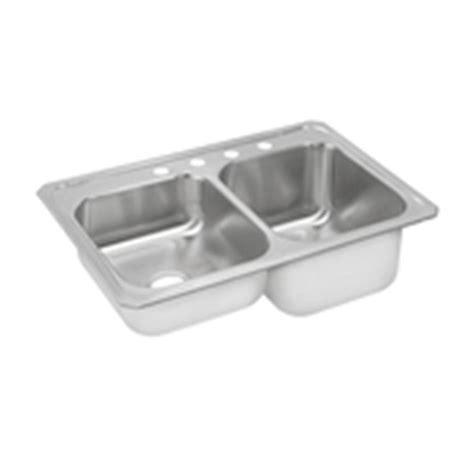 best stainless steel sink elkay gourmet top mount stainless steel 33 in 4