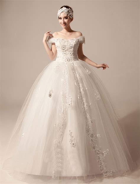 strapless wedding gown turmec the shoulder pink wedding dresses