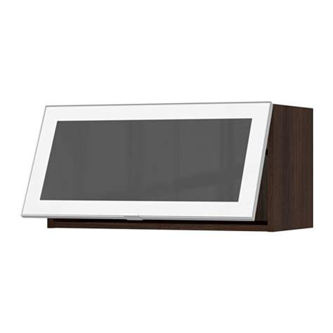 horizontal wall mounted cabinet sektion horizontal wall cabinet glass door white jutis