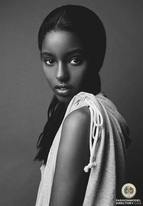 ethiopian model senait gidey b l a c k w h i t e