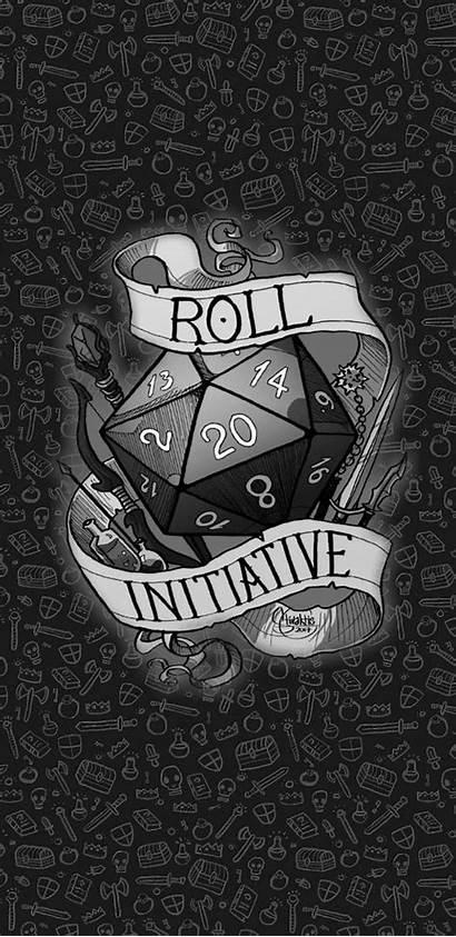 Roll Initiative D20 Dice Ttrpg Critical Dm