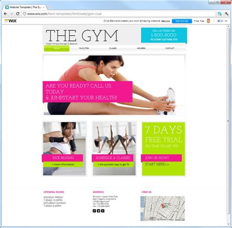 Turn Page Into Template Wix by 11 Best 11 Of The Best Themes For Sports Images