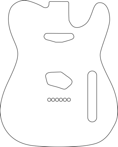 telecaster template telecaster drawing at getdrawings free for personal use telecaster drawing of your choice