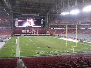 Seating Chart For State Farm Stadium State Farm Stadium Section 122 Arizona Cardinals