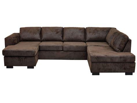 canap marron conforama canapé angle gauche panoramique 8 places en tissu